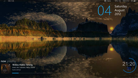 Moon Lake Reflections by f2face