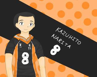 HQ!! Karasuno collection: Kazuhito Narita by Kino-san