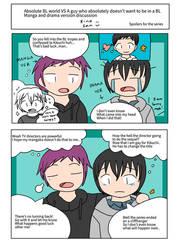 Zettai BL VS : comic 2- manga and drama talk