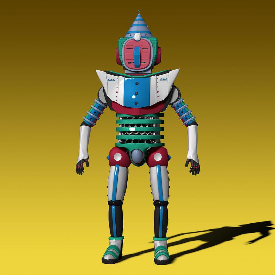 Robot by Schiefenclouven