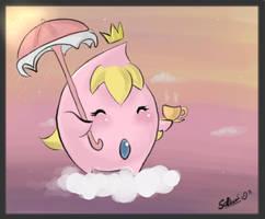 Princess Peach : Luma by Sethiaz