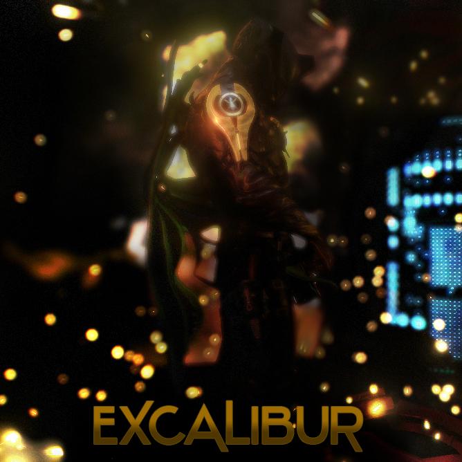 Excalibur Poster Text (JPG version) by ArmorMatrix