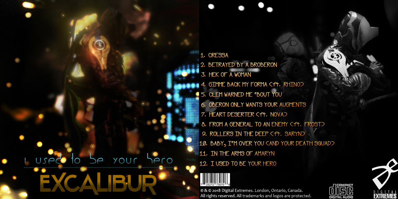 I Used To Be Your Hero (front and back cover, TIF) by ArmorMatrix