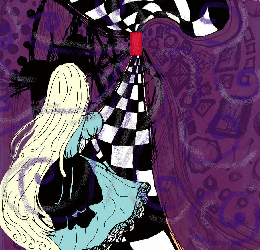 Ino in Wonderland by Yuzuky