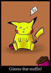 Big fat pikachu by nonarro