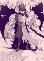 Sasuke Sage Of Six Paths by xtacyz