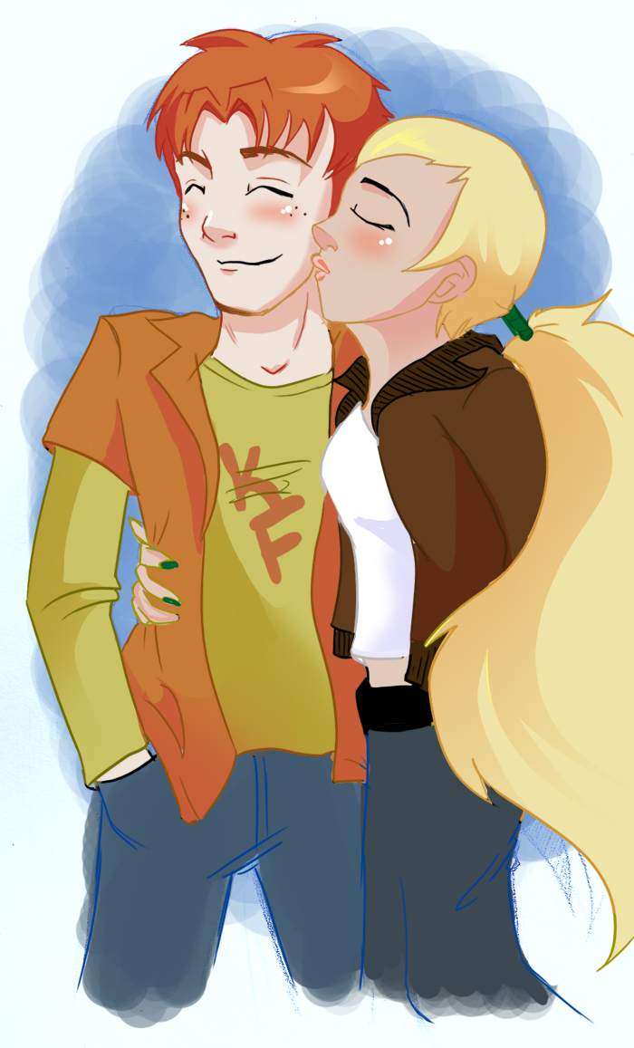 Artemis and Wally by FabulousBendingBros on DeviantArt
