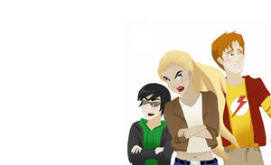 OT3 -  Young Justice by FabulousBendingBros