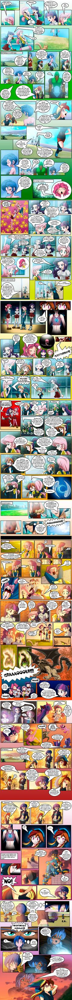 mlp human comic l'amicizia e' magica cap 3 parte 3 by Junnosuke-kazuki
