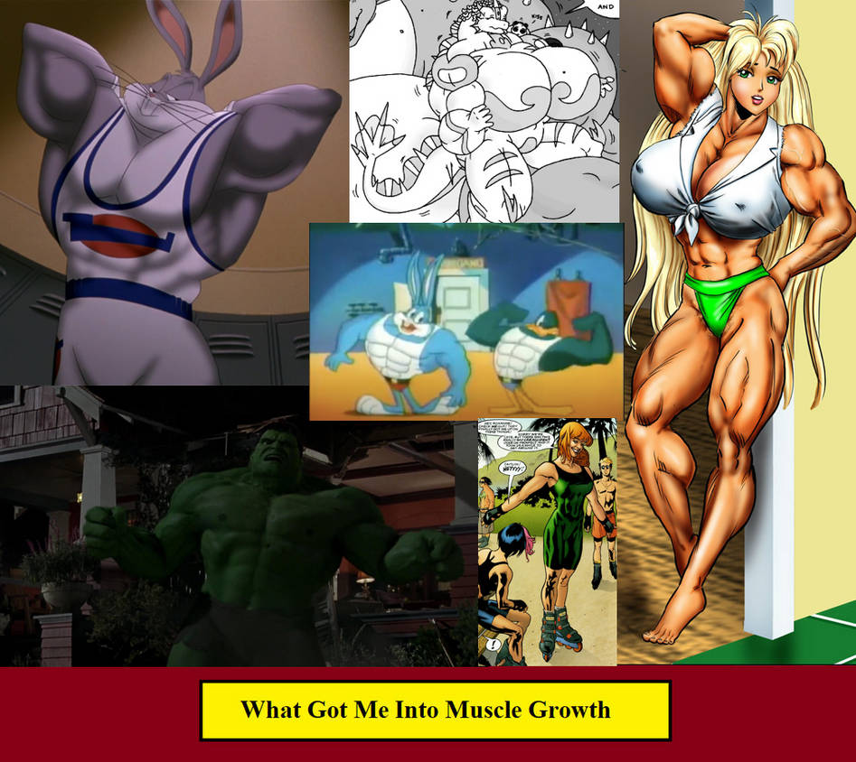 What Got Me Into Muscle Growth By Kurisuwriting