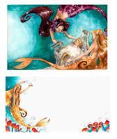 Mermaid 1 by La-petit-Marianna