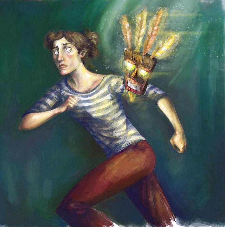 Cortex Strikes Back by La-petit-Marianna
