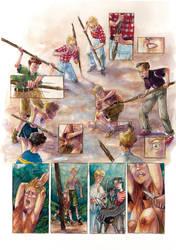 Kill the pig, cut his throat.. by La-petit-Marianna