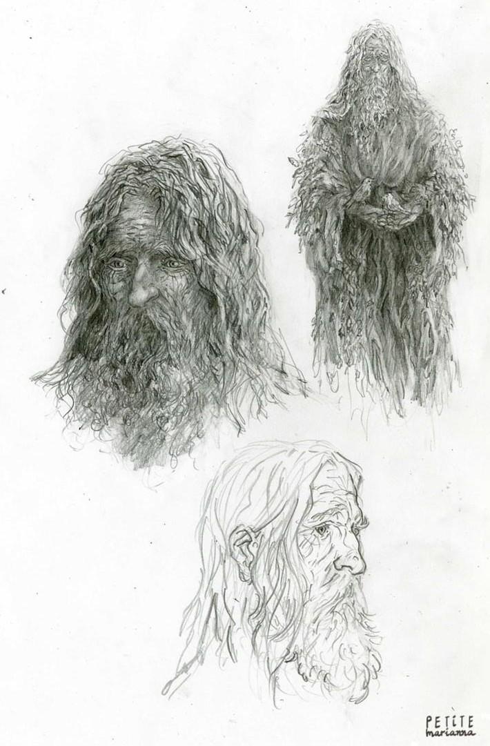 Fantasy portraits: Druid by La-petit-Marianna