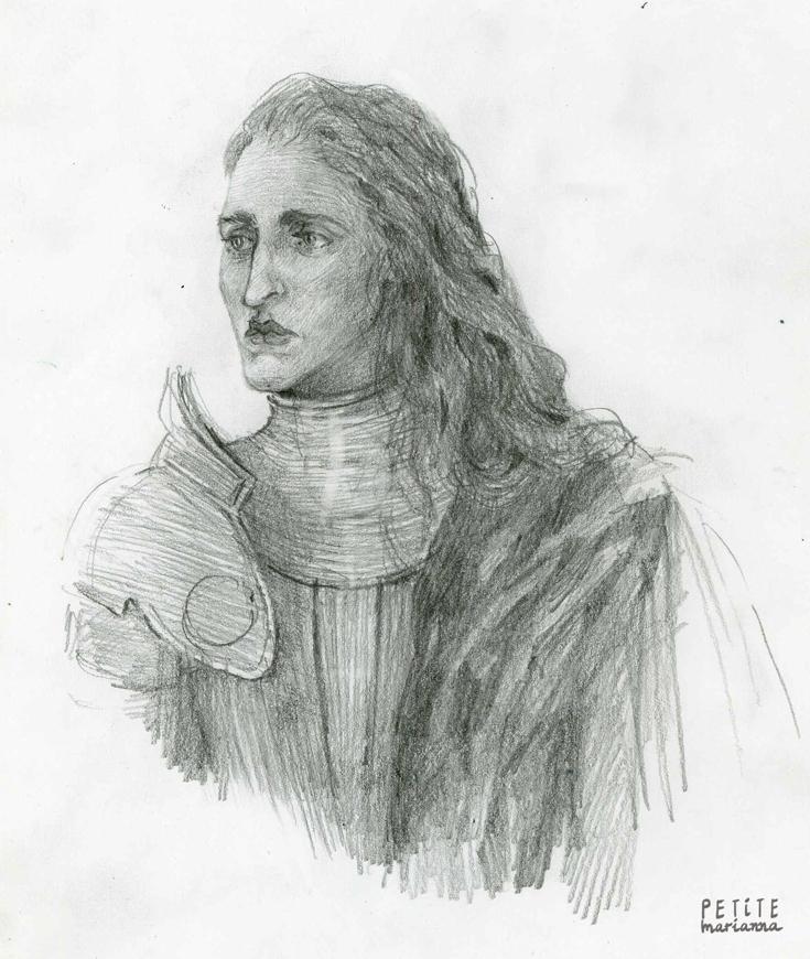 Fantasy portraits: Knight by La-petit-Marianna