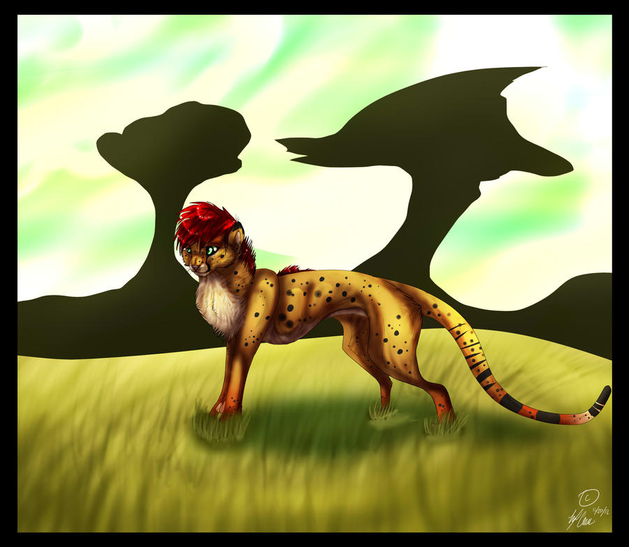 In The Safari by 101shadowdragon