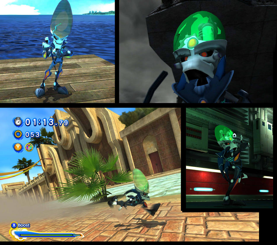Sonic Generations nefarious mod by XenoMind