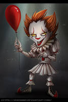 Chibi Pennywise by XenoMind