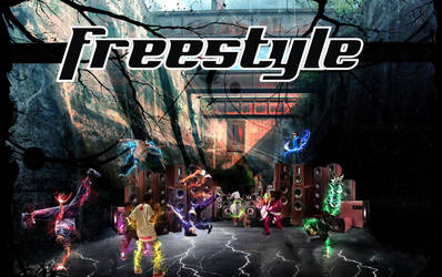 Free style dancers