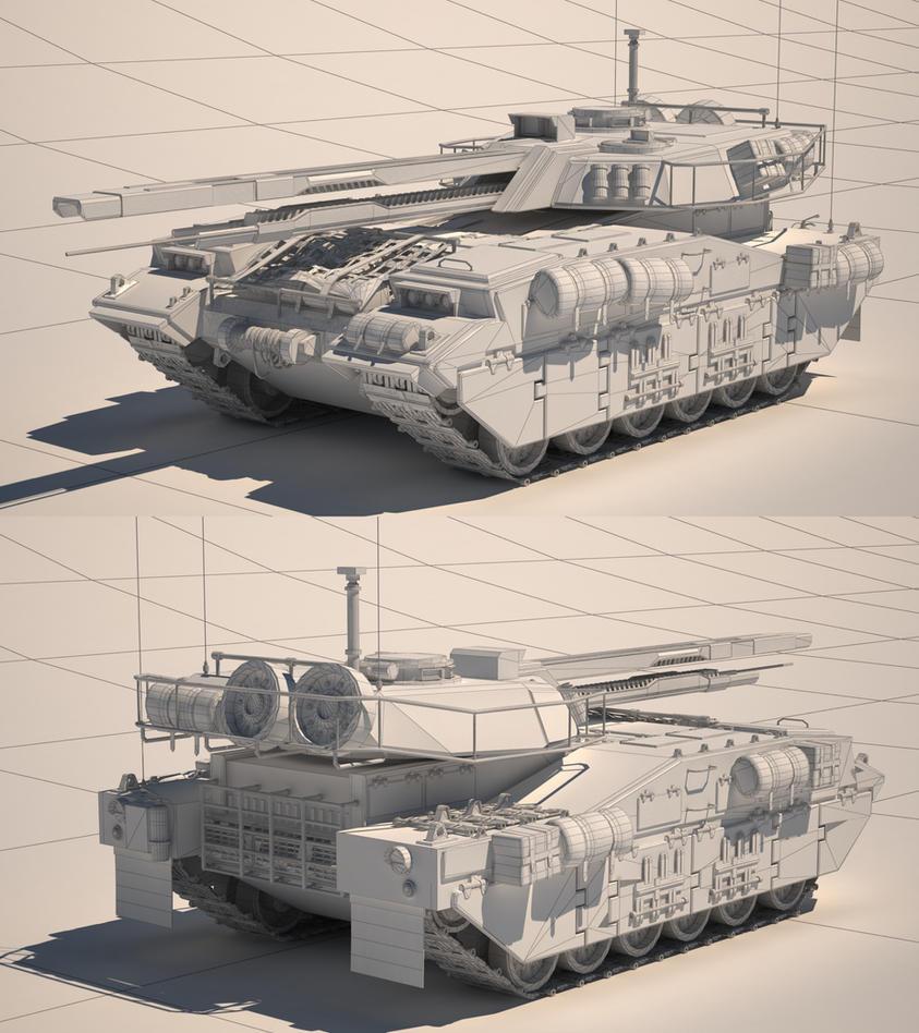 UMPL T3 Jautis M1A2 by DMGaina