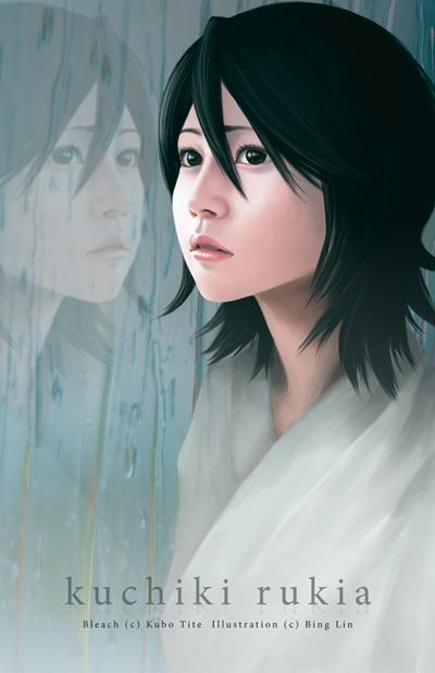 -Bleach- Kuchiki Rukia by korilin
