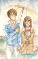 Kimi ni Todoke - Surprise Rain by korilin