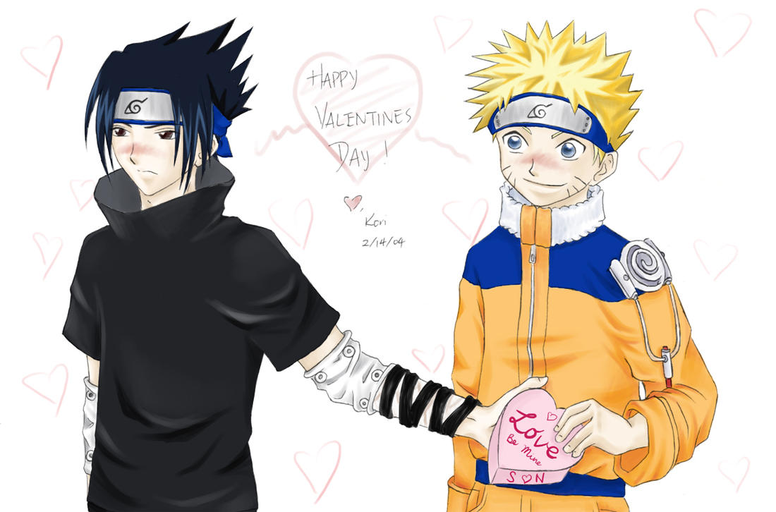 Popular Wallpaper Naruto Cute - sasunaru_valentine  Gallery_97214.jpg