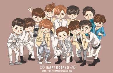 EXO 100 Days!