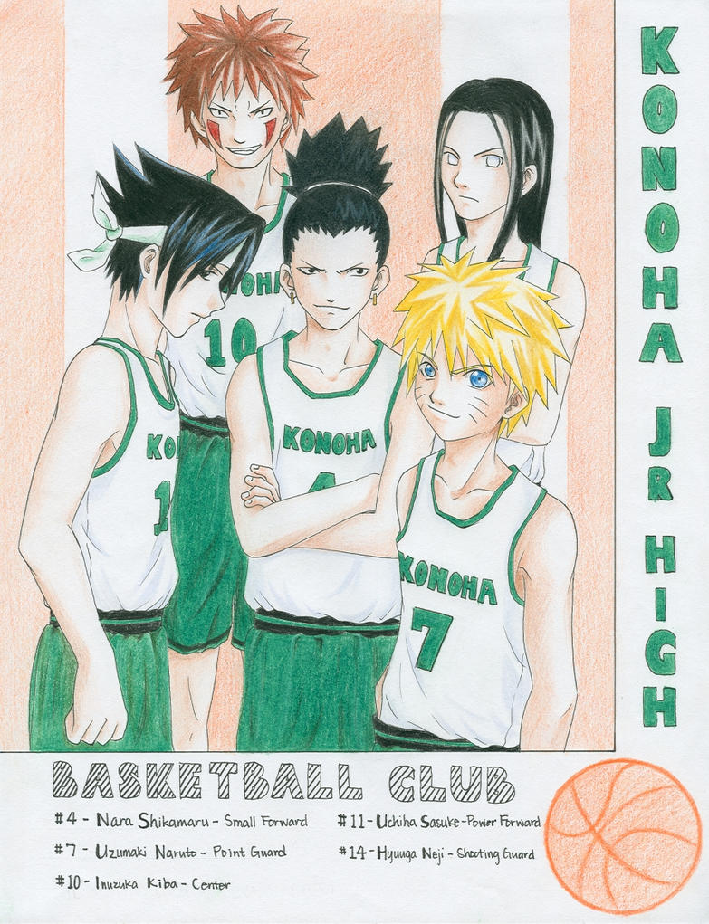 -Naruto- Basketball Club by korilin