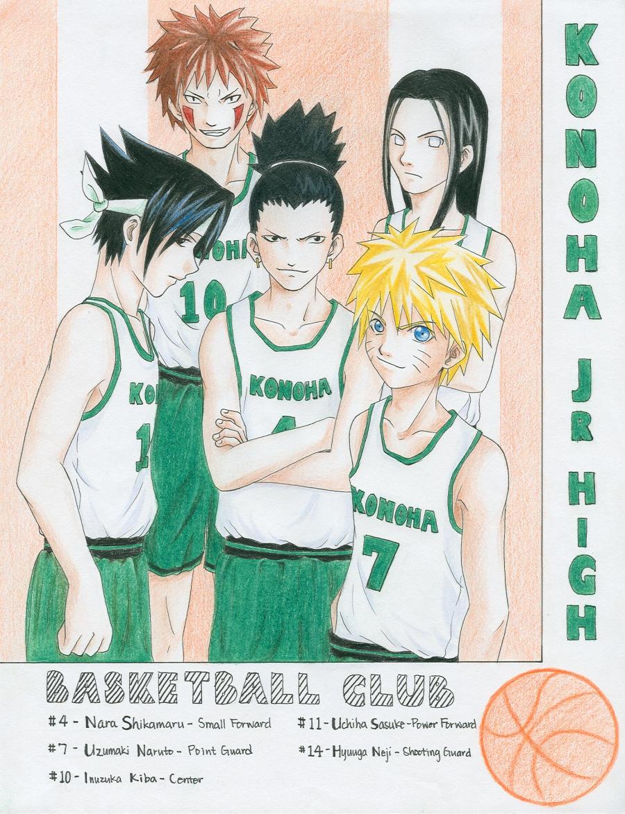 -Naruto- Basketball Club by korilin