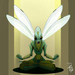 ARTJAM:30 Days of Monster Girls/Boys - Insect
