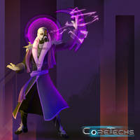 Character Concept: Coretechs Game by HueTwo