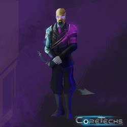 CoreTechs Concept Art: Technocrat Level 1
