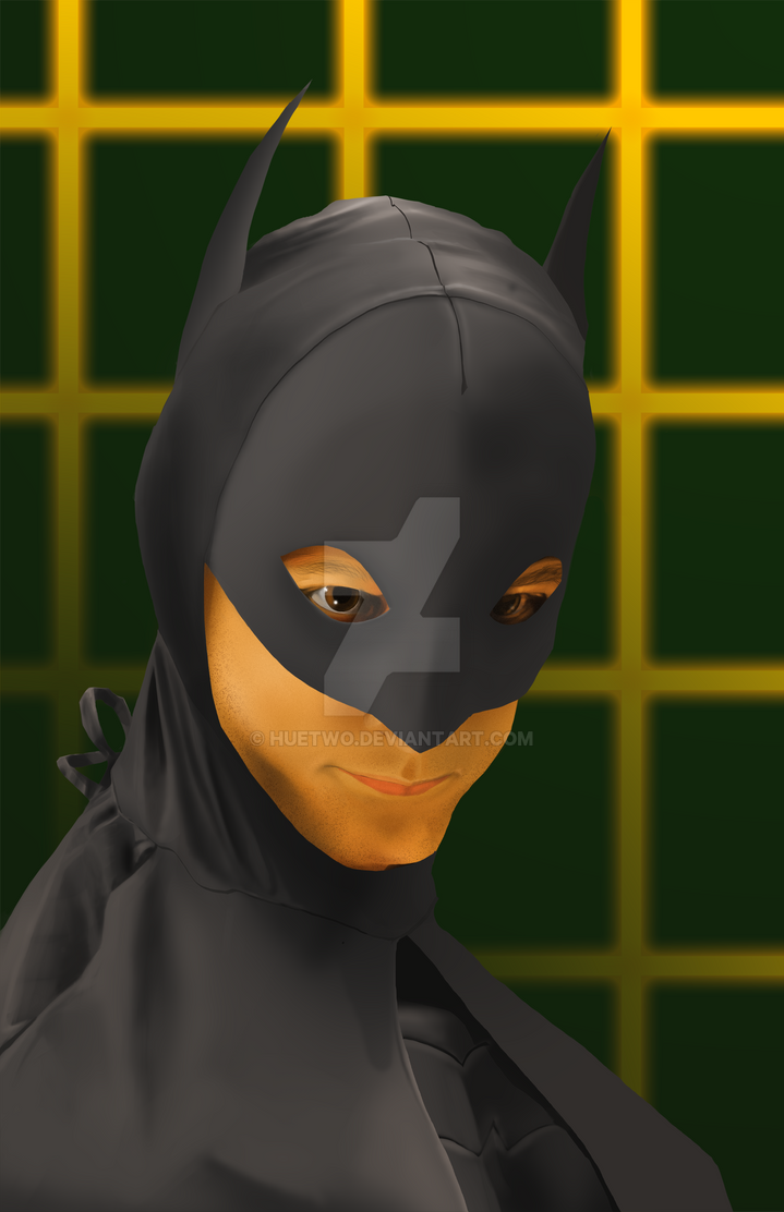 Wonder Geeks Activate! Danni Pudi as Abed/Batman by HueTwo