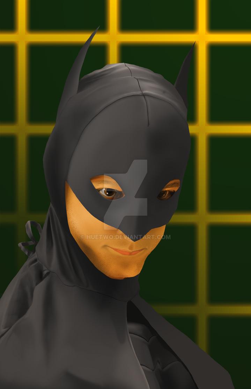 Wonder Geeks Activate! Danni Pudi as Abed/Batman