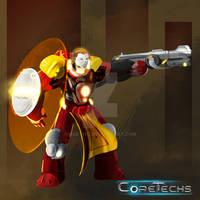 Coretechs Concept Art: Brethren Unit