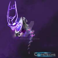 CoreTechs Concept Art: Technocrat Unit
