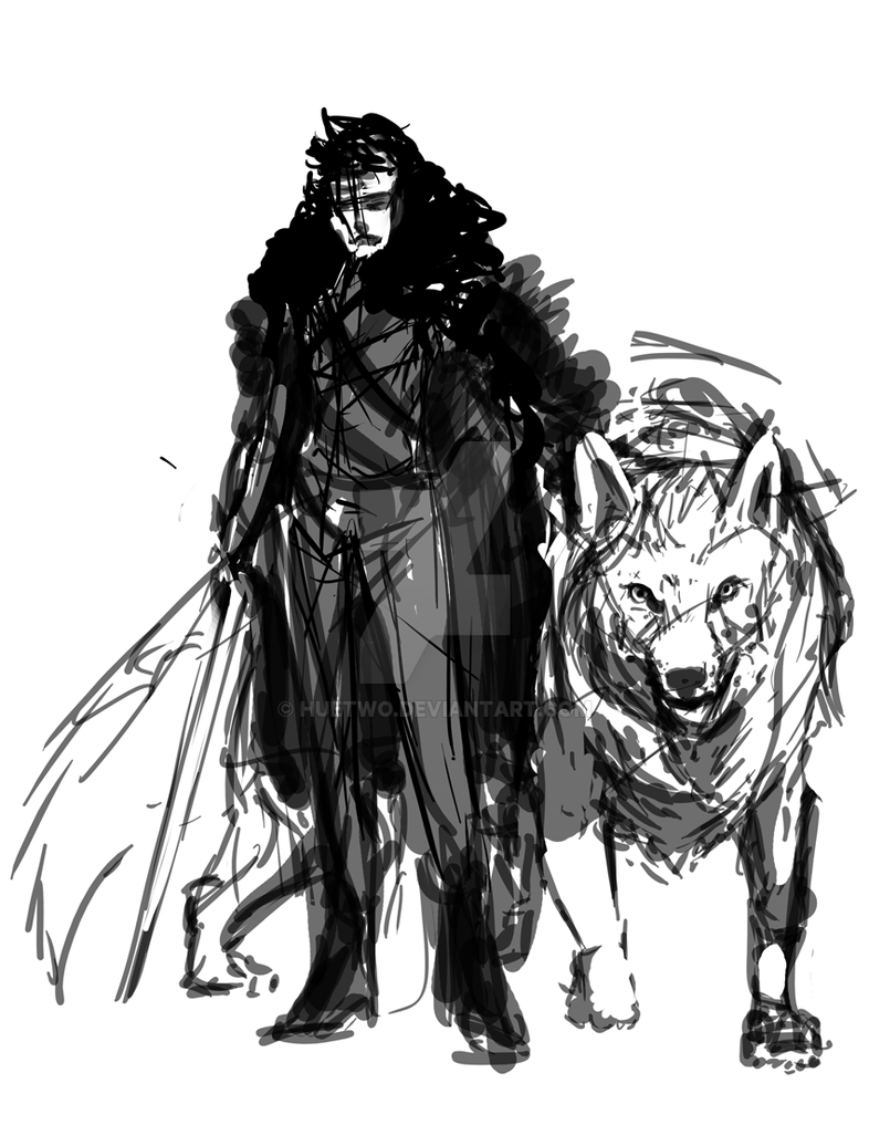 John Snow Sketch by HueTwo