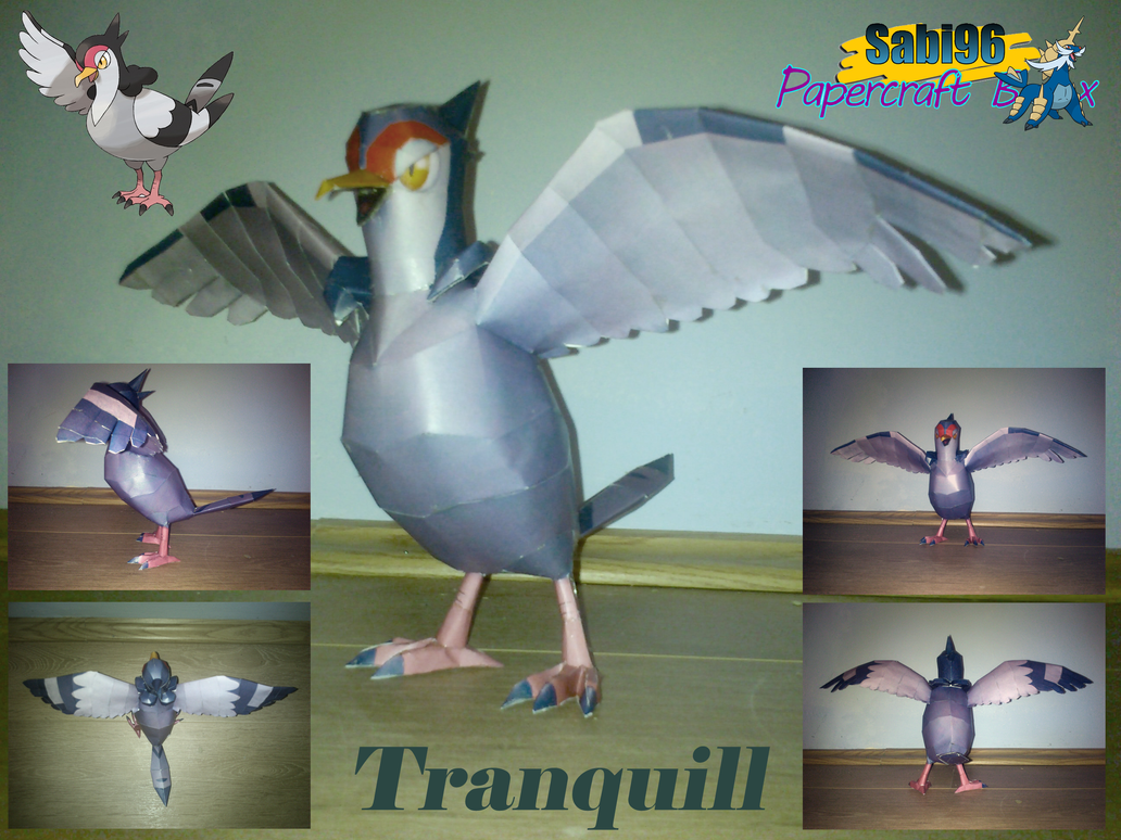 Tranquill Papercraft by Sabi996