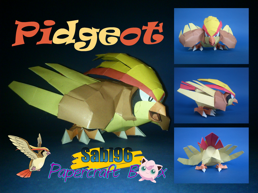 Pidgeot Official Pic by Sabi996
