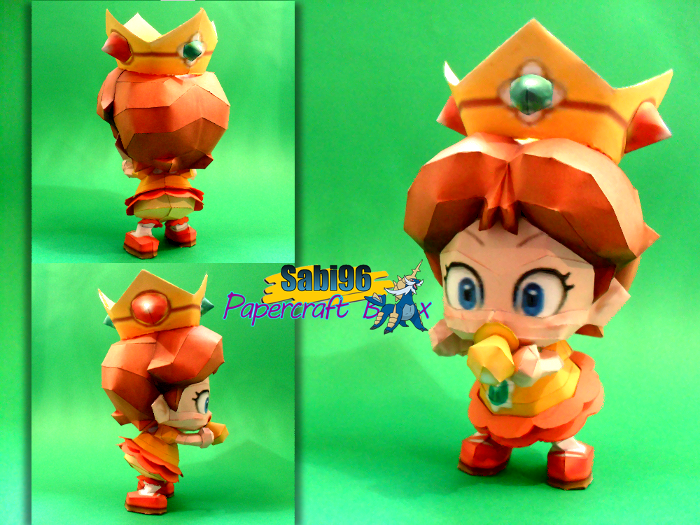 Baby Daisy Papercraft by Sabi996