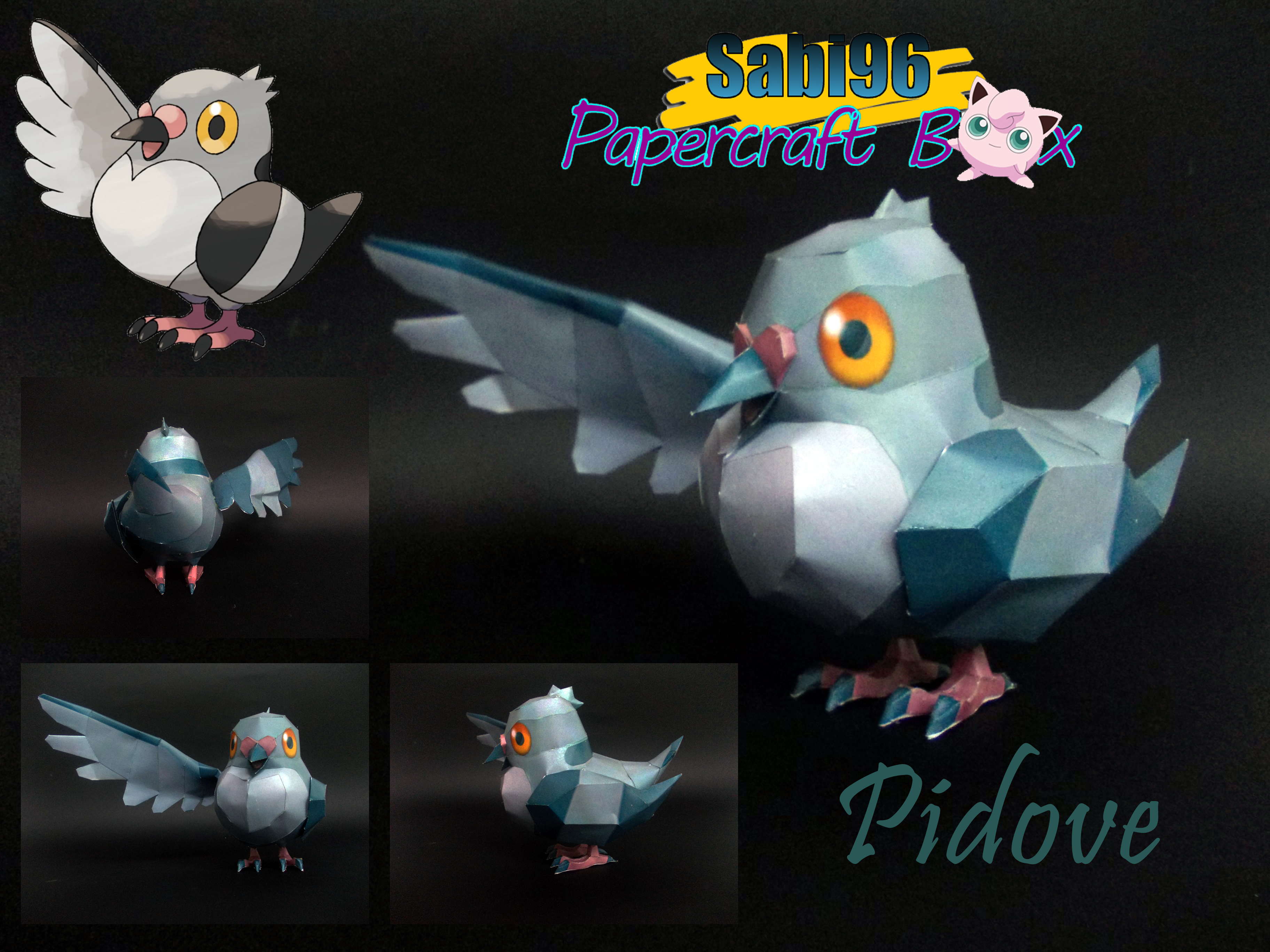 Pidove Papercraft by Sabi996