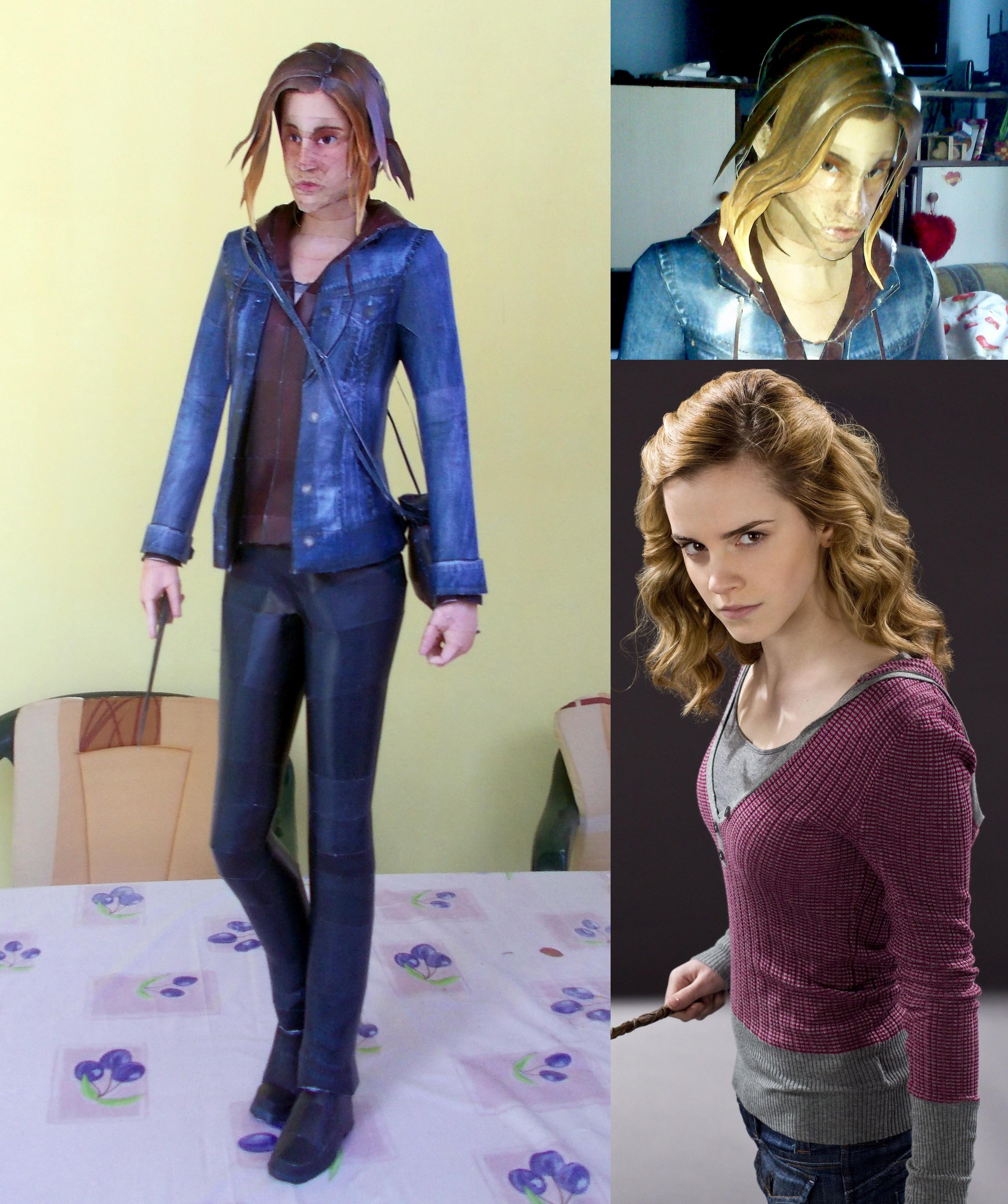 Hermione Granger / Emma Watson Papercraft by Sabi996
