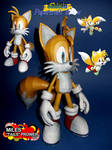 Miles Tails Prower Papercraft