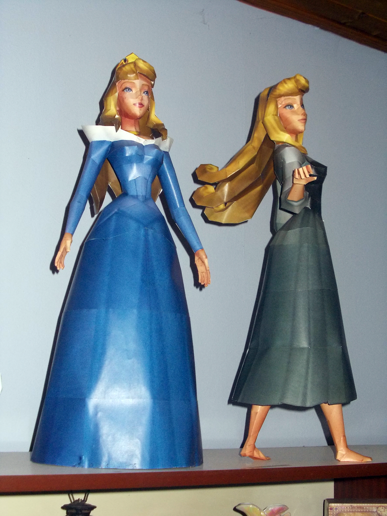 Disney Princess Papercraft