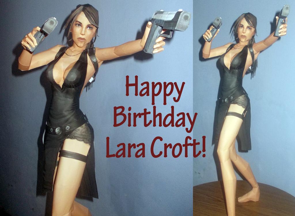 Tomb Raider Legend - Lara Croft Papercraft by Sabi996