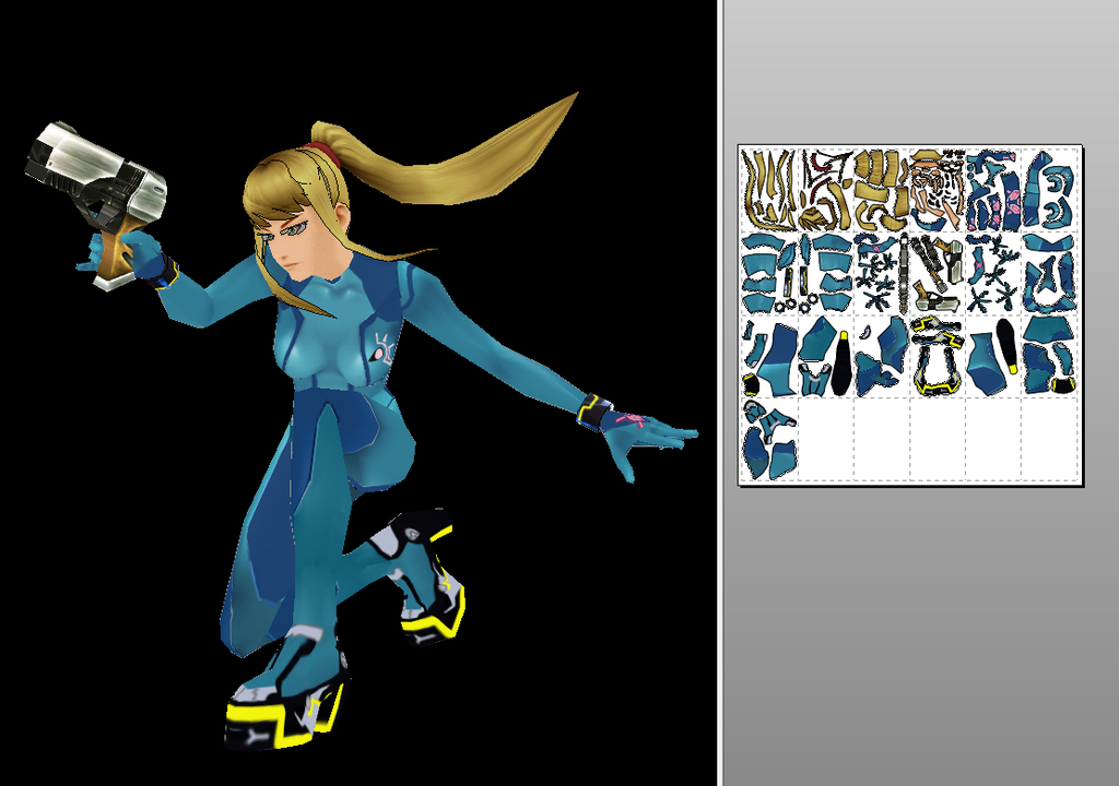 The gallery for --> Zero Suit Samus Ssb4 Shorts