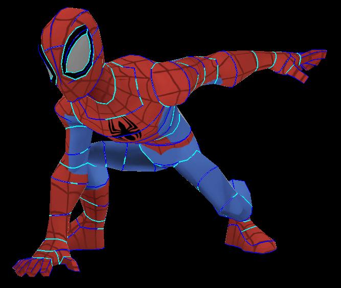 Spider-Man (Disney Infinity) Papercraft by Sabi996