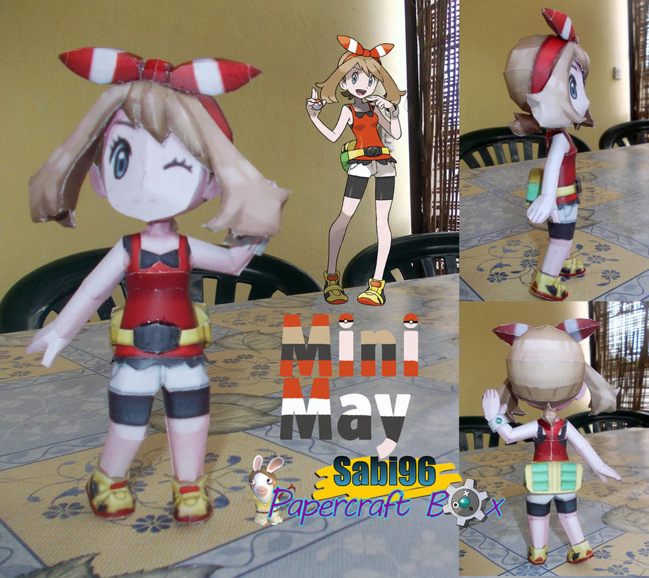 Mini May Papercraft + Release Date by Sabi996
