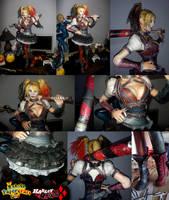 Harley Quinn (Arkham Knight) Papercraft by Sabi996